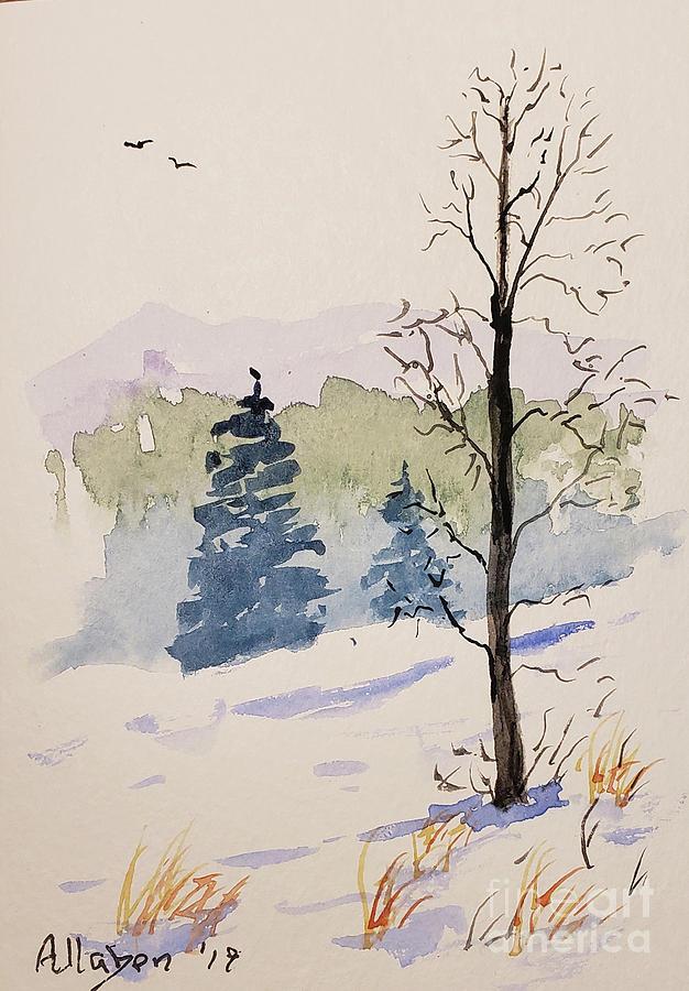 Winter Landscape by Stanton Allaben