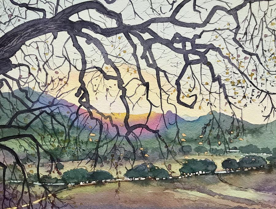 Winter Malibu Creek Painting