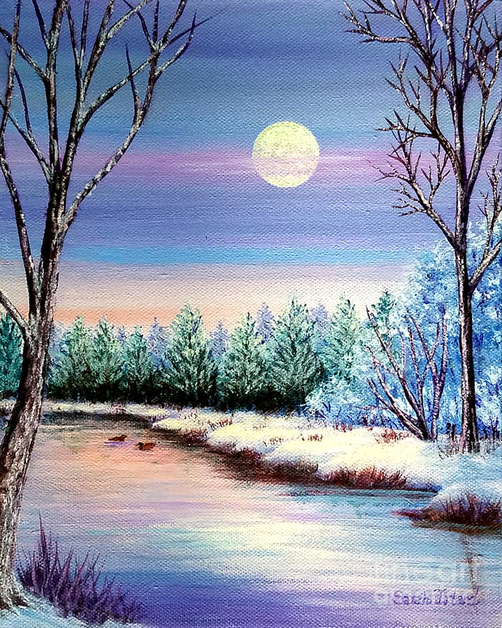 Winter Moon by Sarah Irland