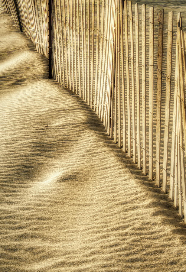 Winter Morning Patterns At The Beach by Gary Slawsky