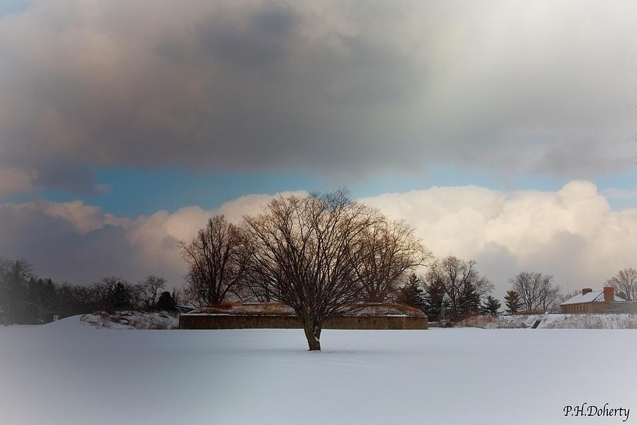 Winter Near The Fort Photograph