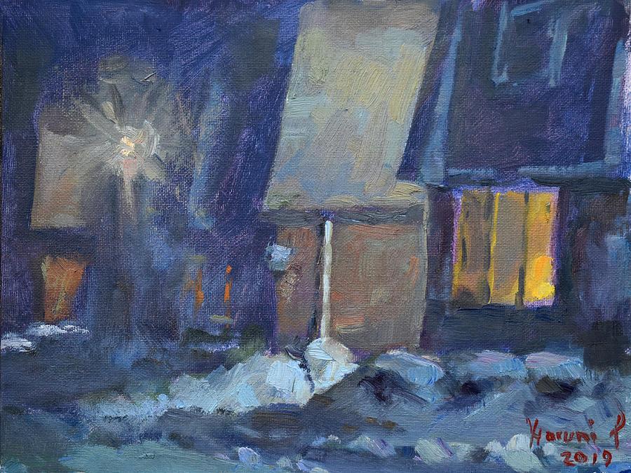 Winter Night by Ylli Haruni
