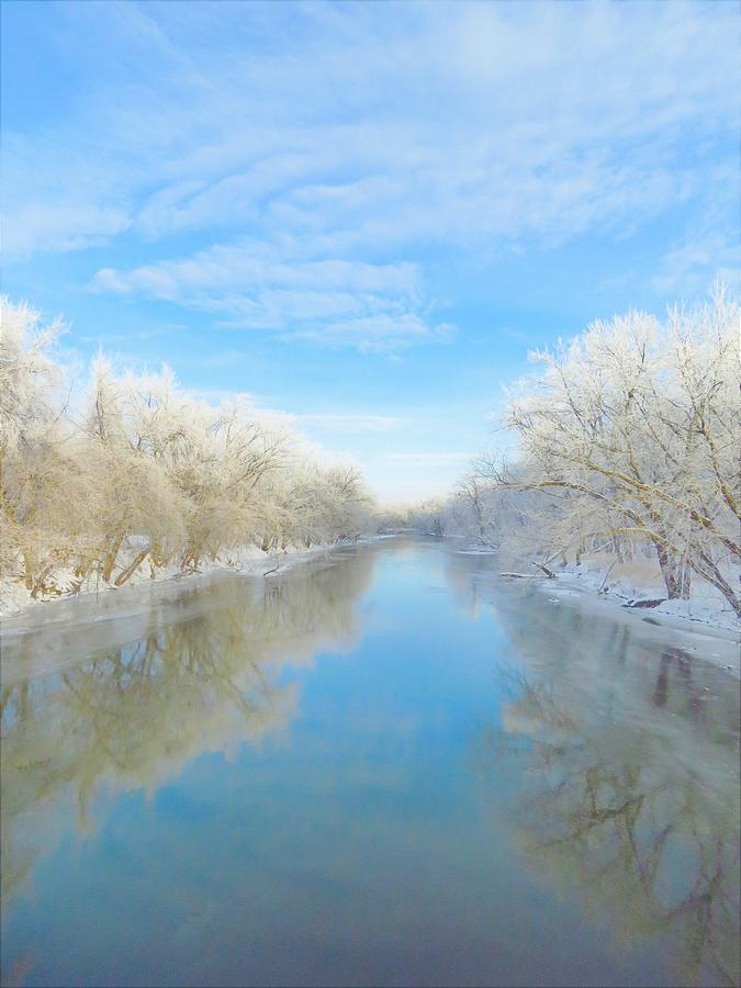 Winter on the Wapsipinicon  by Lori Frisch