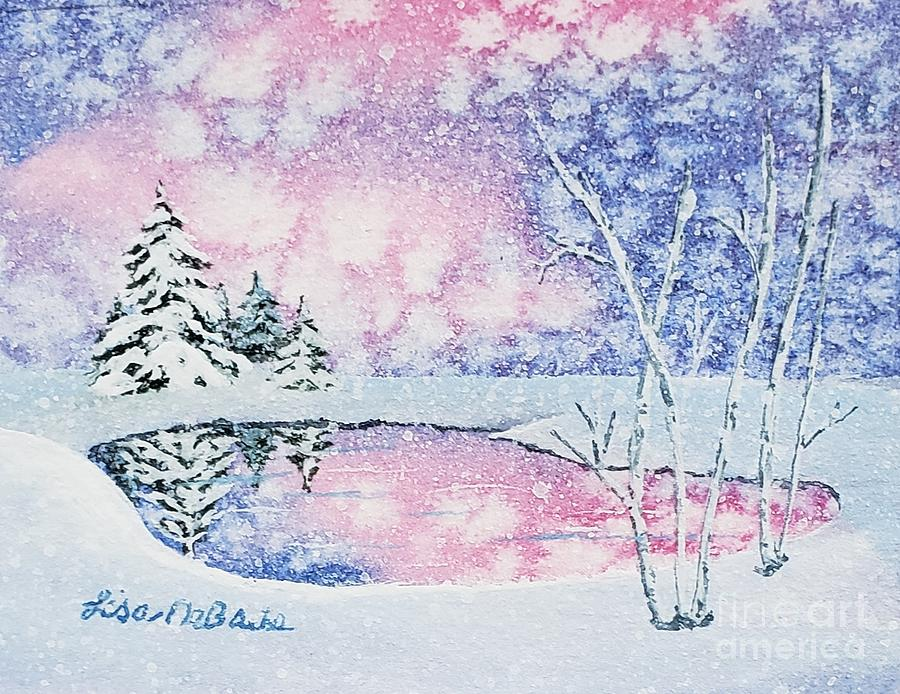 Winter Reflections 1 by LISA DEBAETS