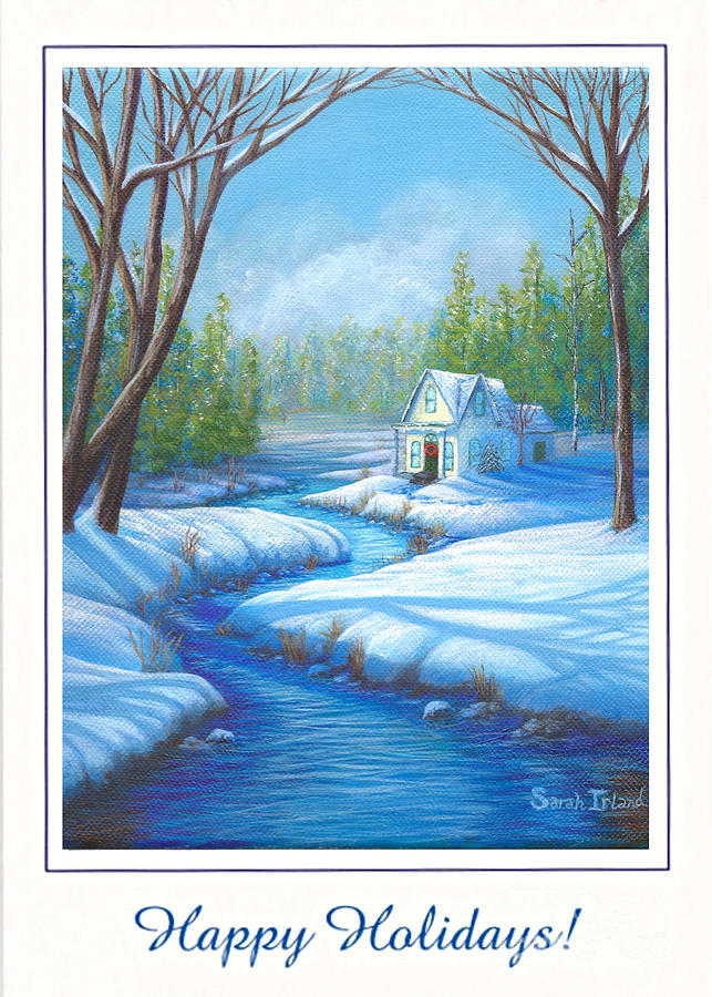 WINTER RETREAT - HAPPY HOLIDAYS by Sarah Irland