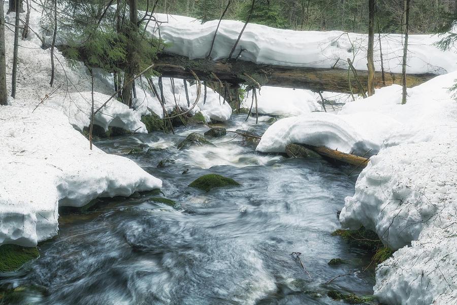Winter River Photograph