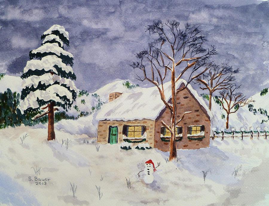 Winter Scene by Susan Bauer