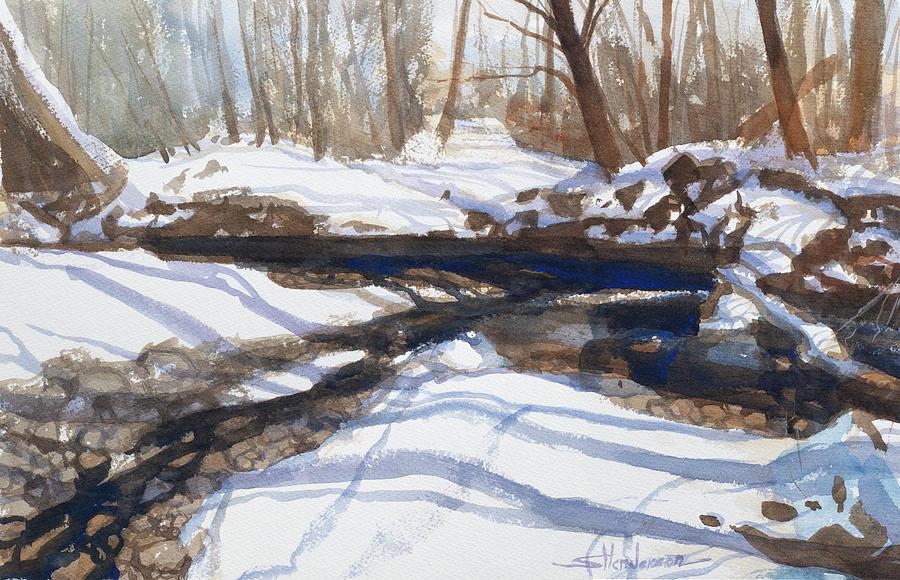Winter Solitude Painting