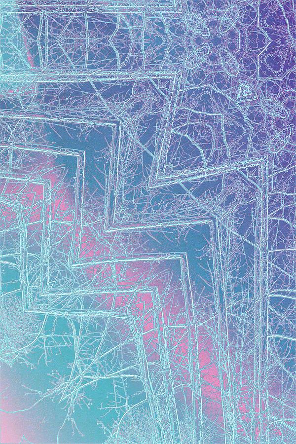 Abstract Photograph - Winter Storm by David Beard