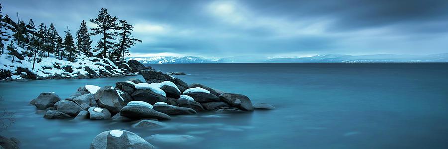 Winter Storm Panorama By Brad Scott Photograph