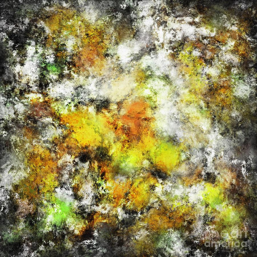 Yellow Digital Art - Winter Sunlight by Keith Mills