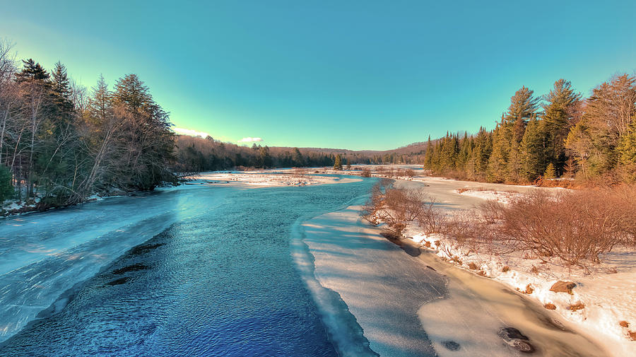 Winter View from the Green Bridge by David Patterson