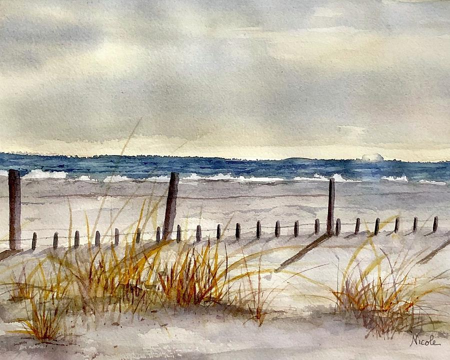 Winter Walk Painting