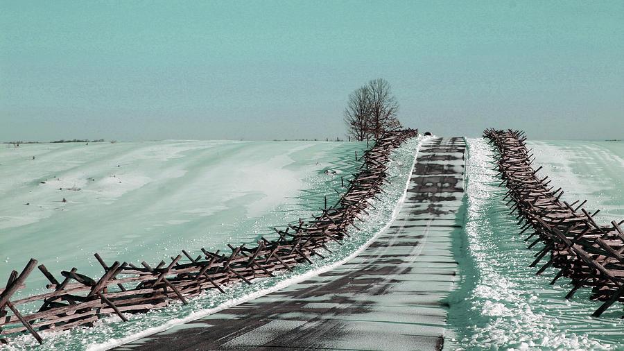 Winter Walk - Surreal Art By Ahmet Asar Digital Art