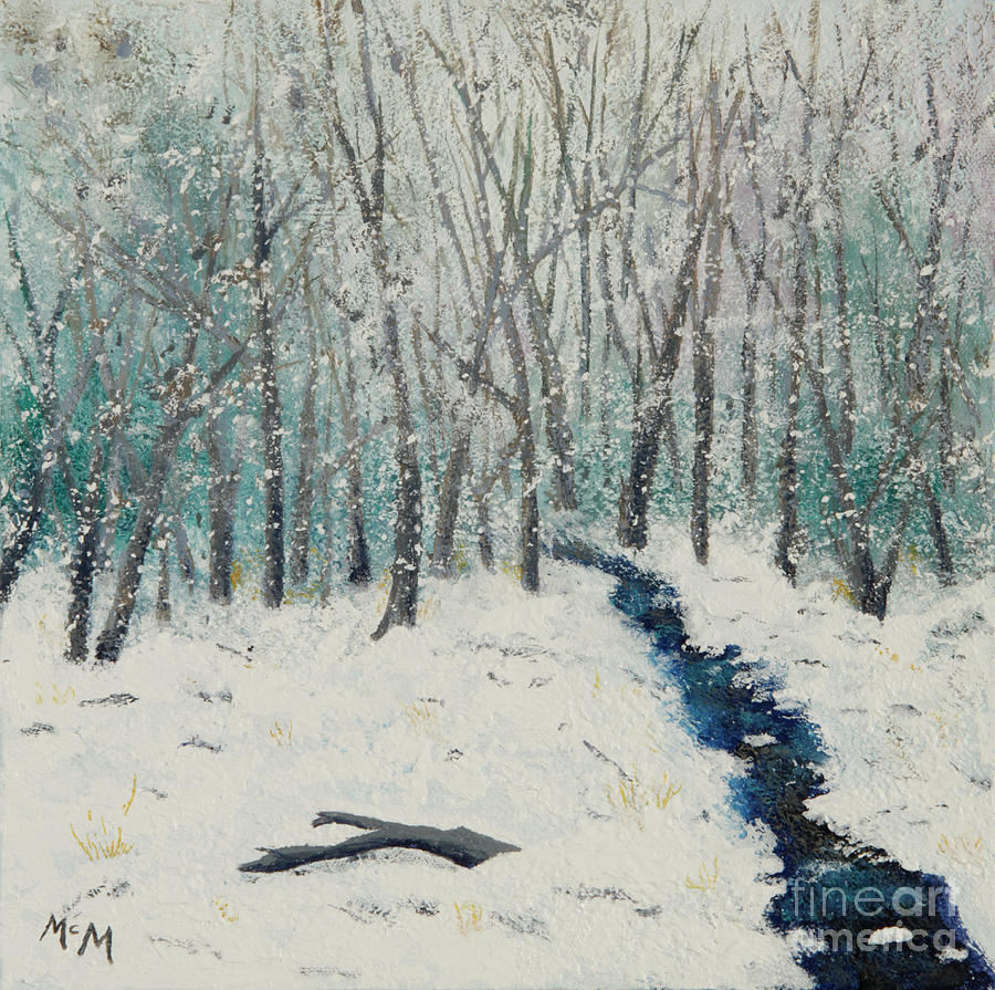 Winter Woods by Garry McMichael