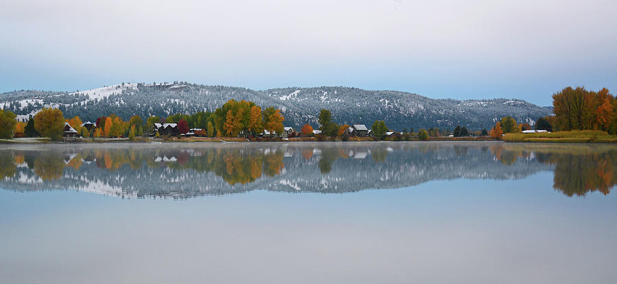 Winters Reflection Photograph