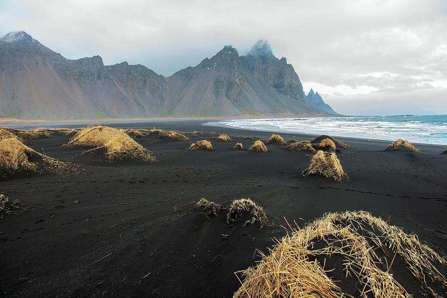 Wintertime Near Mt. Vestrahorn, Iceland Photograph