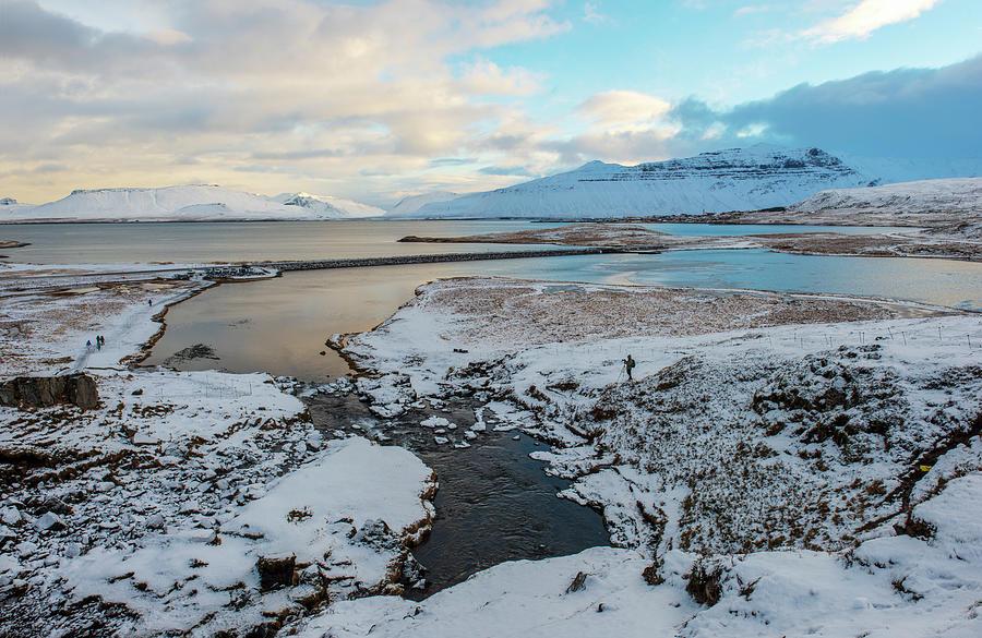Wintertime Near Kirkjufell, Iceland Photograph