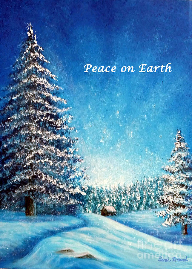Wintry Light - Peace on Earth by Sarah Irland