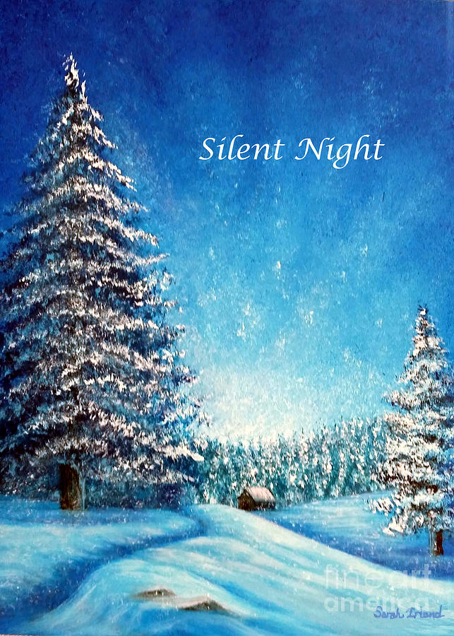 Wintry Light - Silent Night by Sarah Irland