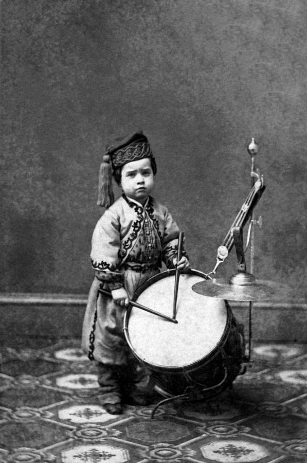 Wisconsin Infant Drummer - Willie Bagley - Civil War 1864 Photograph