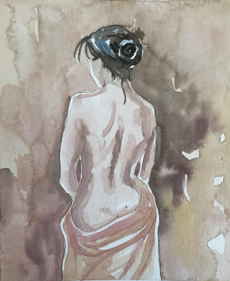 Woman Alone Painting