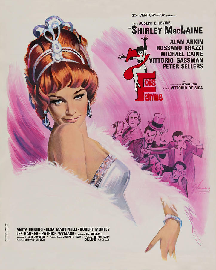woman Times Seven, With Shirley Maclaine, 1967 Mixed Media