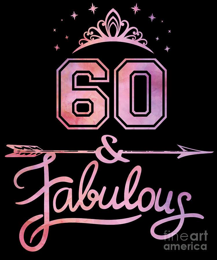 Happy 60th Birthday Photo Frame Bilderrahmen