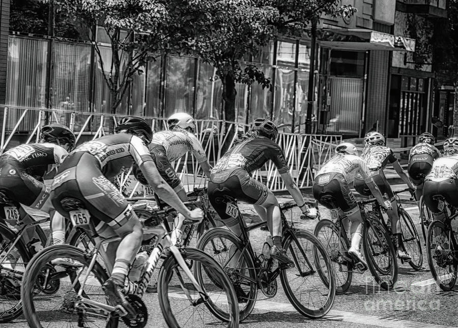 Cycling Photograph - Overflow   by Steven Digman