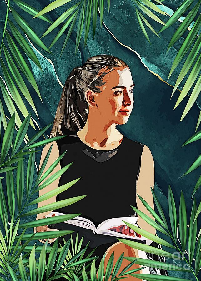Women Life Reader #women Digital Art