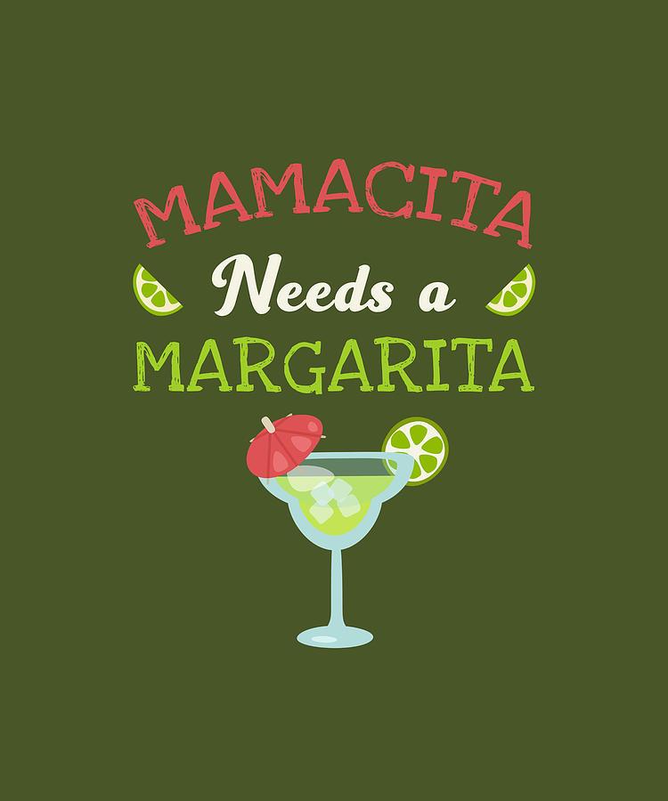 Mamacita Needs A Margarita Shirt margarita shirt fiesta shirt gift for her gift for wife cinco de mayo shirt mama shirt