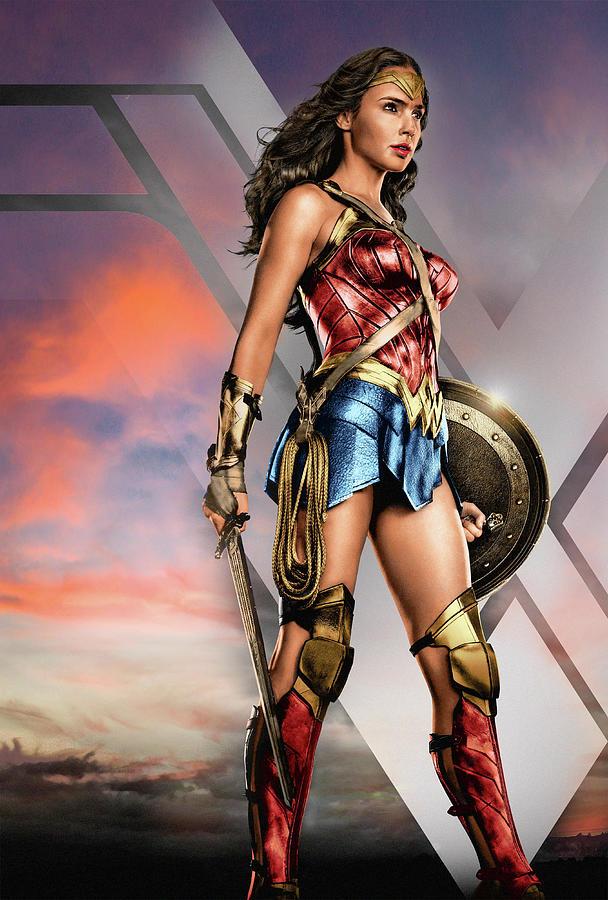 Wonder Woman Zack Snyders Justice League Digital Art