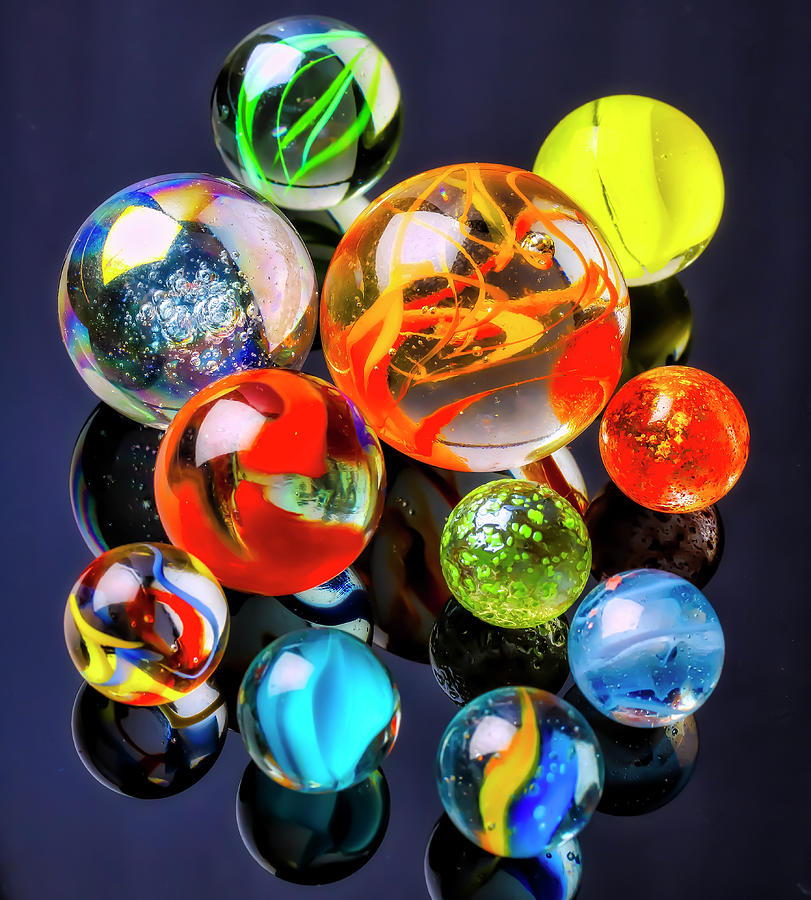 Wonderful Glass Marble Collection by Garry Gay