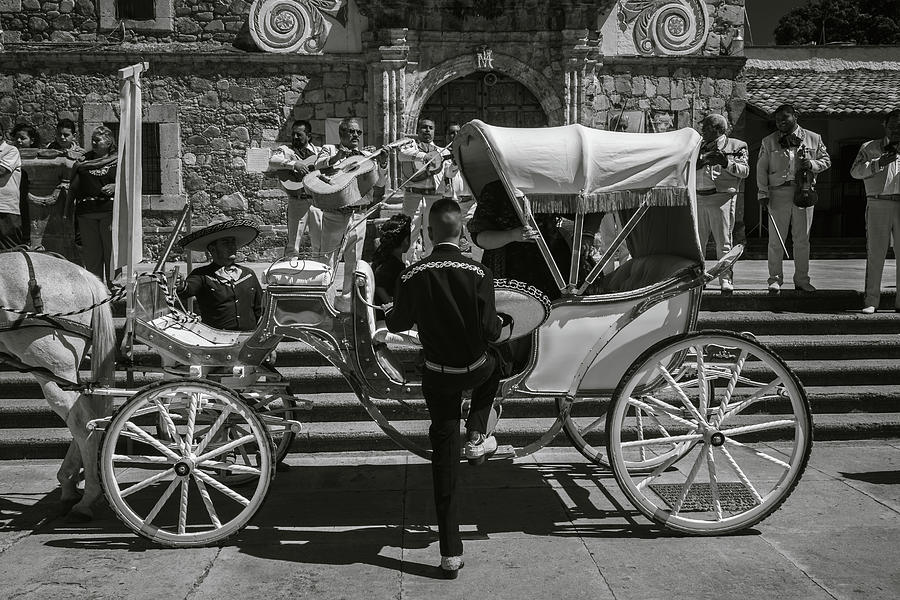 Escaramuza Photograph - Wooden Carriage in Mexico by Dane Strom