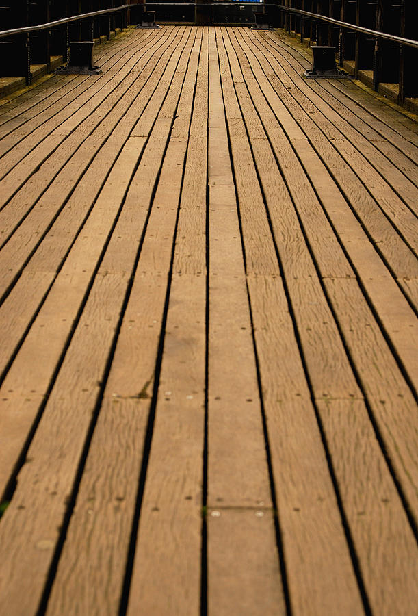 Wooden walkway Photograph by Lyn Holly Coorg