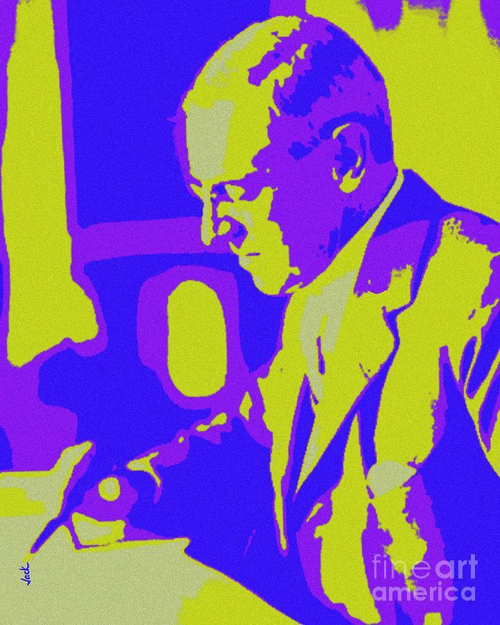 Woodrow Wilson Painting - Woodrow Wilson by Jack Bunds
