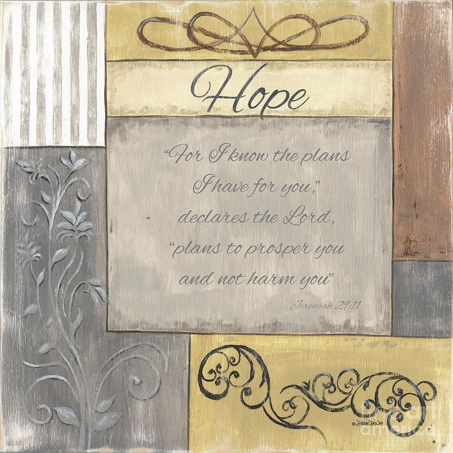 Words To Live By 2, Hope Painting