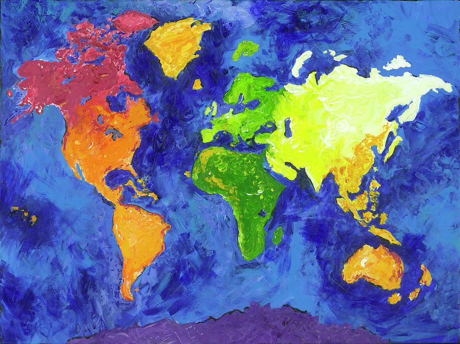 World Painting by Britt Miller