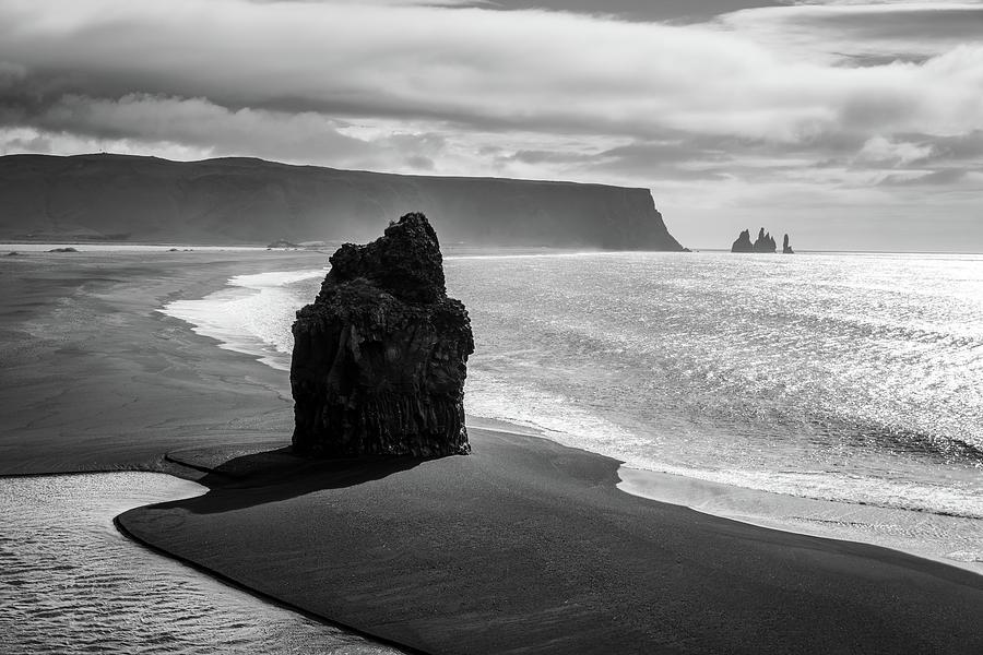World-famous Black-sand Beach Reynisfjara Photograph