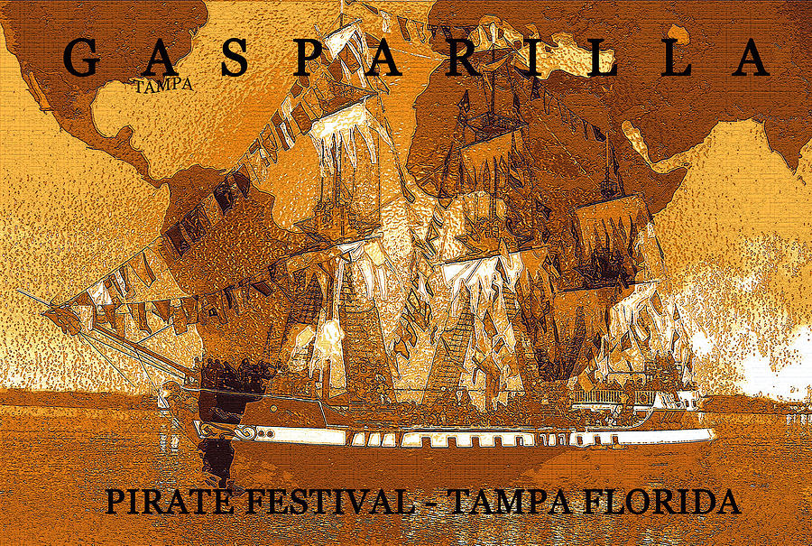 World Famous Gasparilla Mixed Media