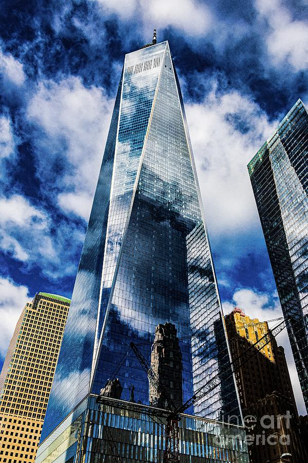 World Trade Center Reflections Photograph