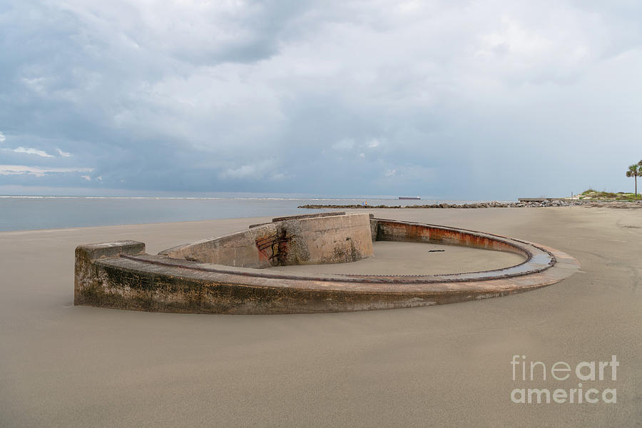 World War II Coastal Defense - Sullivans Island South Carolina Photograph
