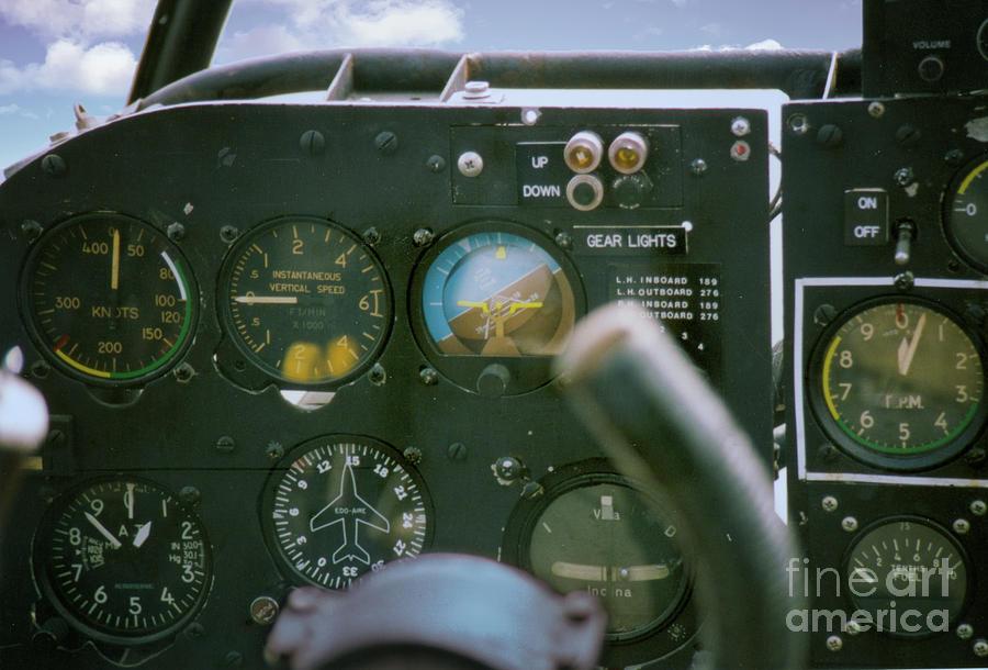 World War II Cockpit Photograph