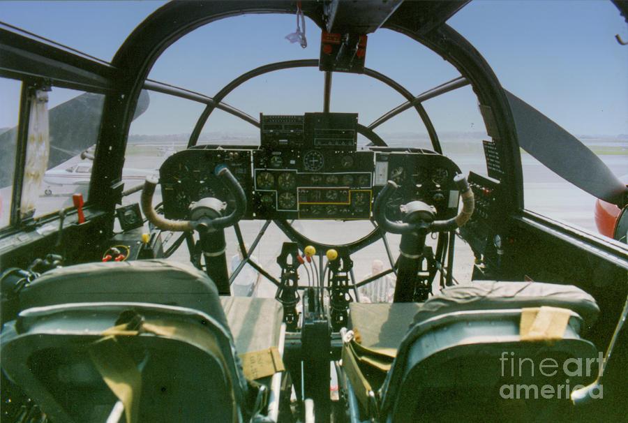 World War II Prop - Bomber Photograph