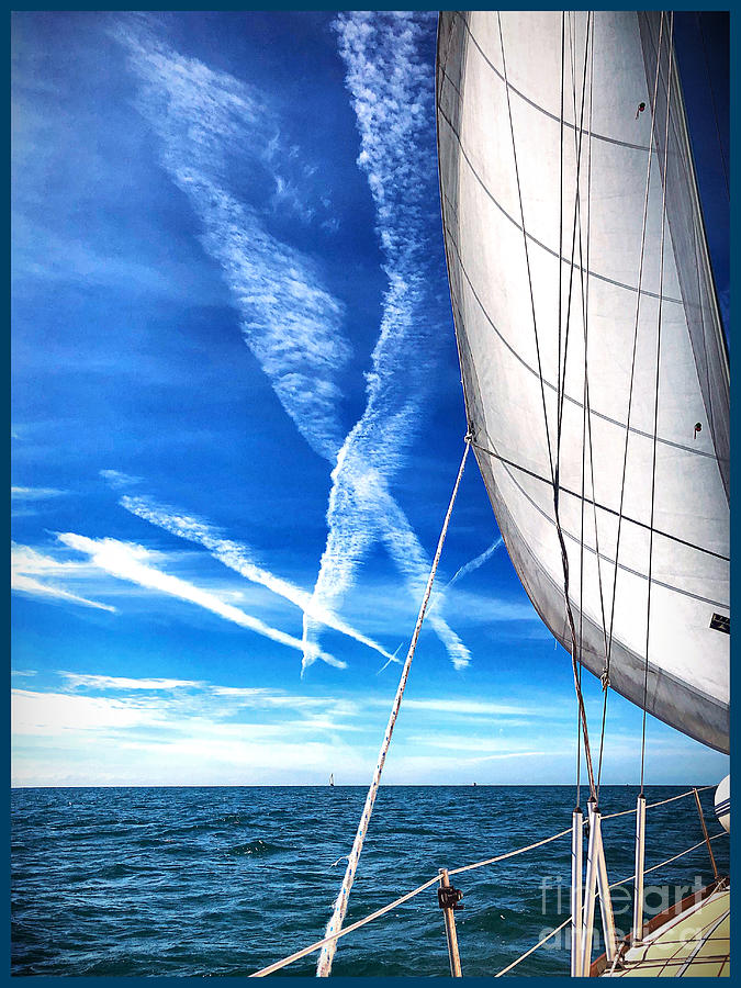 Sailing Photograph - X marks the spot by Steven Norris