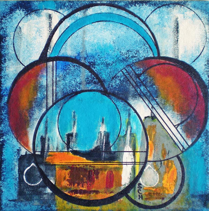 Abstract Painting - Xanadu Number Five by Scott Haley