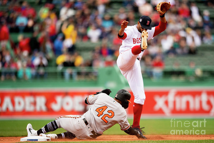 Xander Bogaerts and Jonathan Villar Photograph by Billie Weiss/boston Red Sox