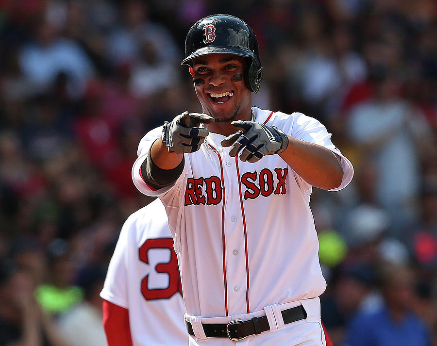Xander Bogaerts Photograph by Jim Rogash