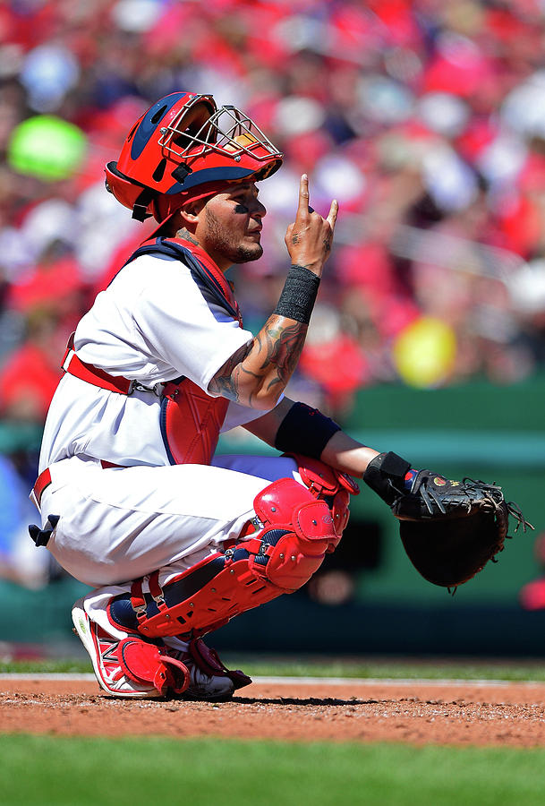 Yadier Molina Photograph by Jeff Curry