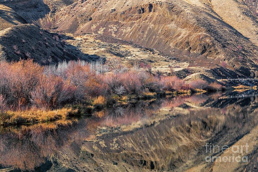 Yakima River Illusions by Mike Dawson